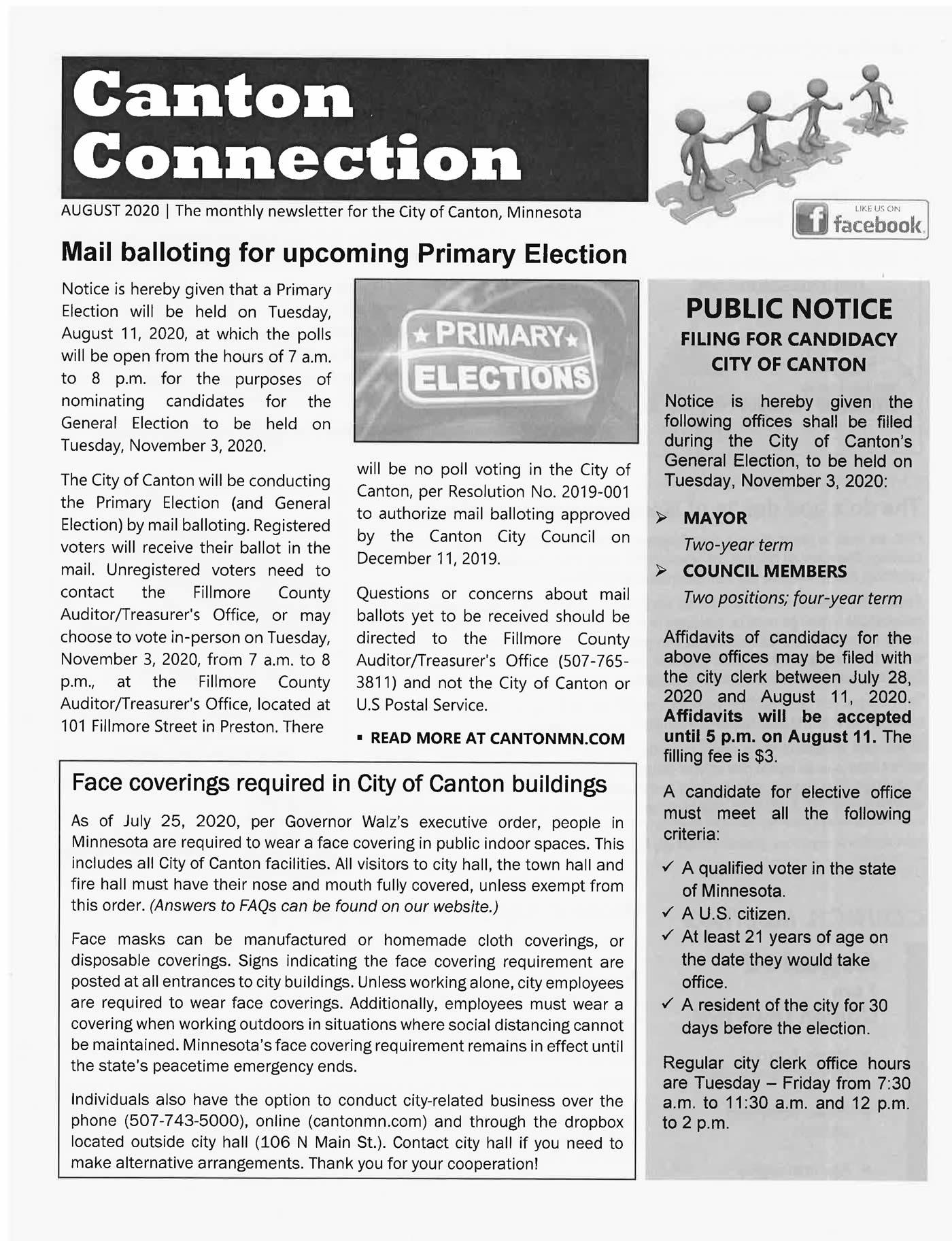 Canton Connection - Canton Minnesota